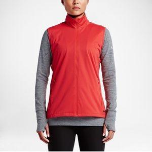 Nike wind shield golf full zip vest | size XL
